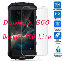 """2PCS Tempered Glass  9H Explosion proof Protective Film Screen Protector mobile phone for Doogee S60 Lite  / S60  S60LITE 5.2"""""""
