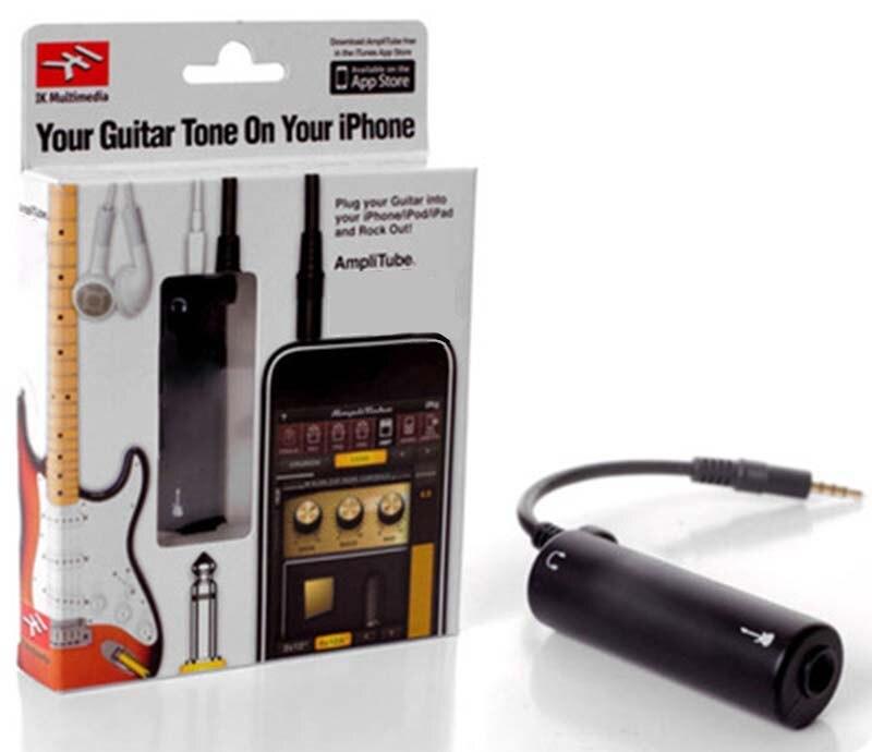 Irig Gitarre Link Kabel Adapter Amp Audio Interface Converter Gitarre Pedal Effekte Tuner Link Linie Gitarre Zubehör Für Iphone