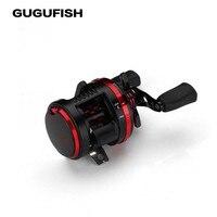 GUGUFISH 10BB+1RB Bait Casting Fishing Reels carretilha de pes Pull Tornado Cast Drum Reel for fishing with Magnetic Brake