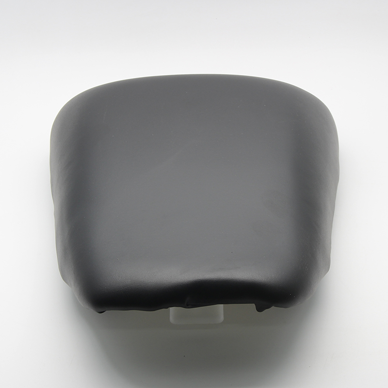 Black Rear Pillion Passenger Seat Cover For <font><b>Suzuki</b></font> <font><b>SV1000</b></font> SV650 <font><b>2003</b></font> 2004 2005 2006 <font><b>2007</b></font> 2008 2009 2010 image