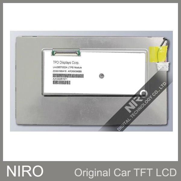 Niro EMS/DHL Новые оригинальные A+ Автомобильные TFT ЖК-мониторы от LAJ065T002A