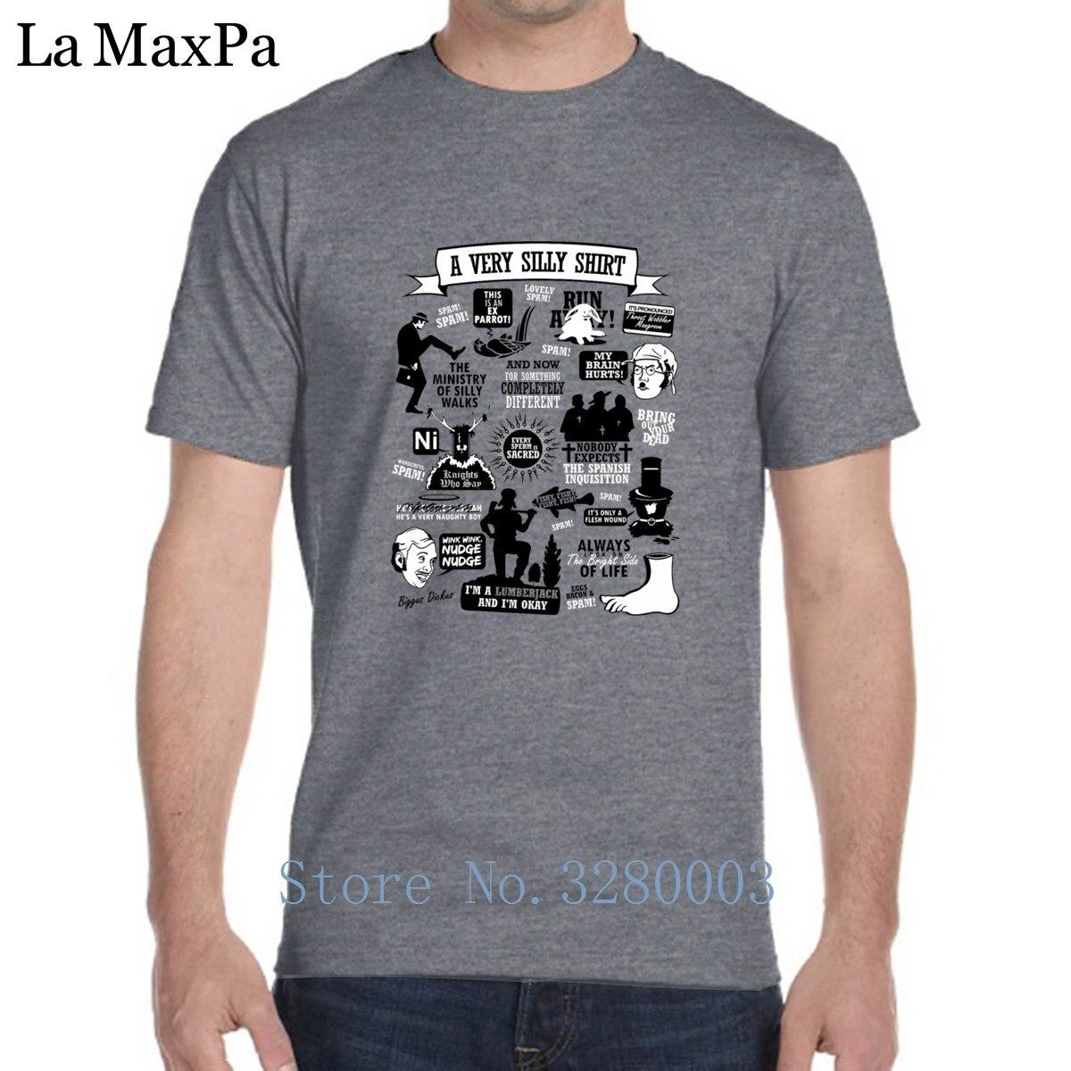 Creative Nouvelle Mode T Shirt Hommes Monty Python Citations T-Shirt Hommes la Lumière Du Soleil T-shirt Pour Hommes Tenue O-cou Top Qualité