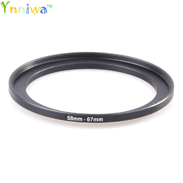 58-67mm Metal Step Up Rings Lens Adapter Filter Set