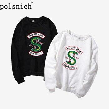 2019 New Velvet Fashion Long Sleeve Casual Sweatshirt Print Riverdale Print Kawaii Apparel Sweatshirt, Kpop Sweatshirt, Hixtape, ornate print long sleeve casual sweatshirt