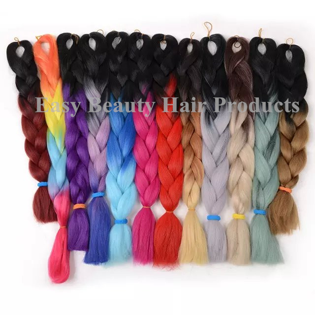 Bluewhite hair ombre synthetic hair extensions jumbo synthetic bluewhite hair ombre synthetic hair extensions jumbo synthetic hair kanekalon jumbo braids two toned ombre hair xpression on aliexpress alibaba group pmusecretfo Choice Image