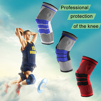 1 Pc Breathable Sweat Absorb Outdoor Safety Sports Hiking Basketball KneePads Tape Tactical Knee Pads Calf