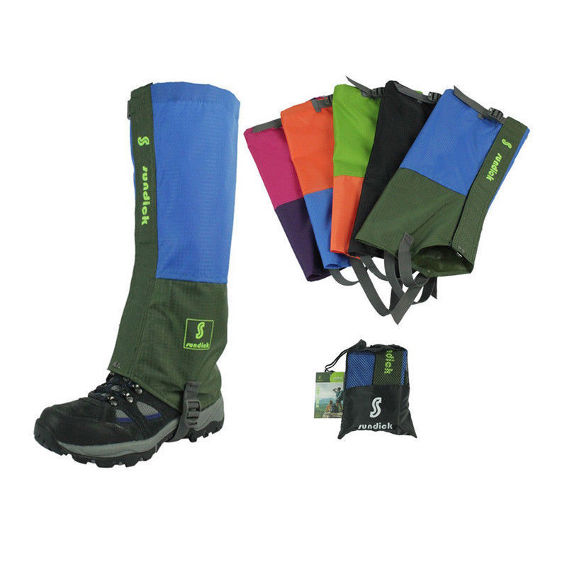 Sundick Mountaineering Gaiters Waterproof Snow Gaiters Breathable Camping Gaiters SD-XT01