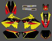 New Style TEAM DECALS STICKERS Graphics Kits For Suzuki RM125 RM250 RM 125 250 2001 2002 2003 04 05 06 07 08 09 10 2011 2012