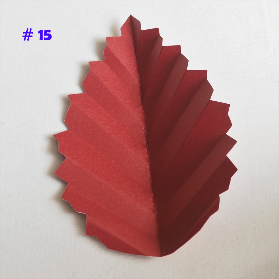 Diy Artificial Paper Flower Leave Giant Paper Rose Leaves For