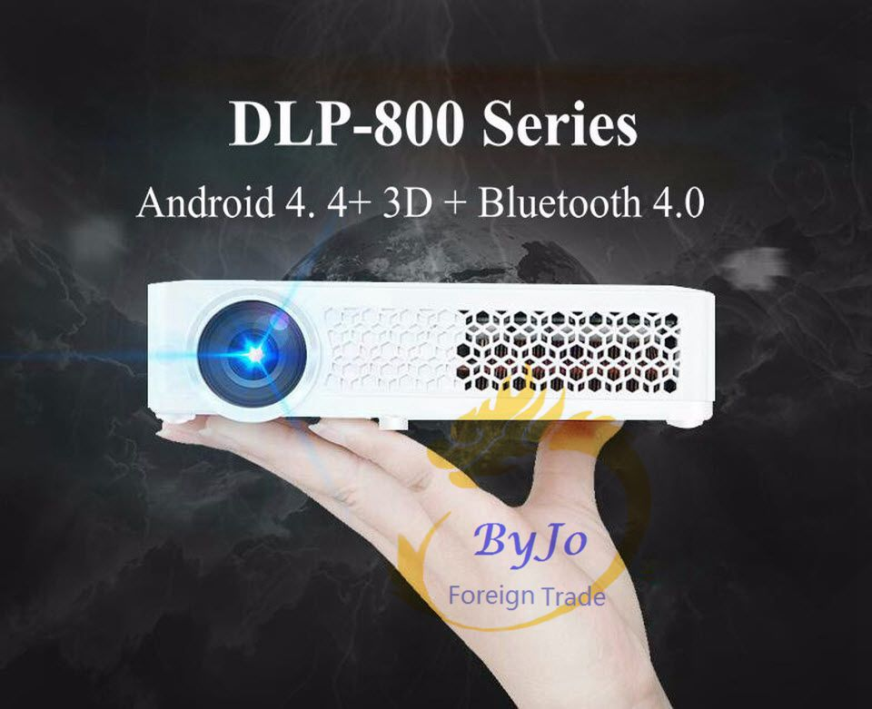 Poner Saund DLP-800W Mini projector WIFI Android Projector DLP projector Home Theater Projector DLP 800W proyector led beamer