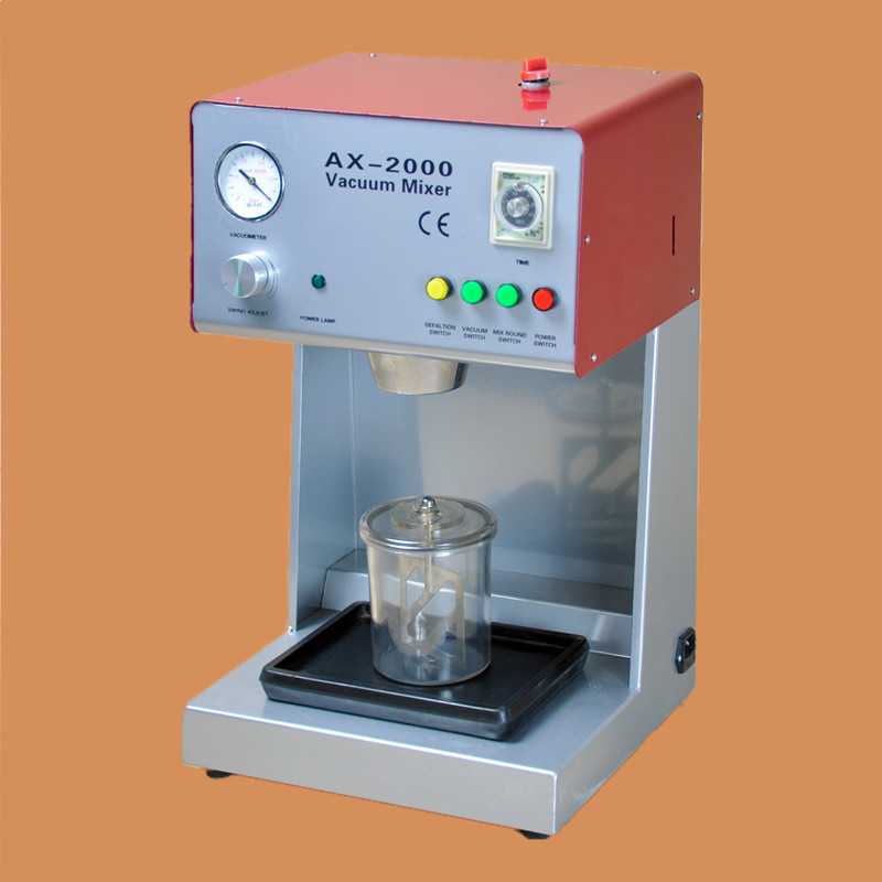 High Qualily Dental Lab Plasters Investments Mixer Equipment Machine For Mix Plaster AX 2000B