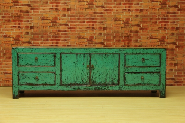 Colored Furniture tv cabinet wood colored paint tv cabinet chinese style colored
