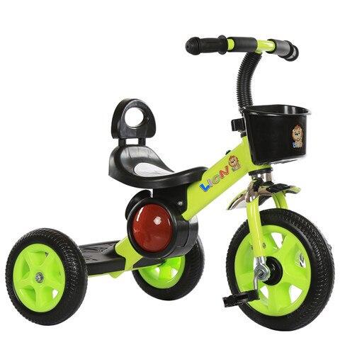 Tricycle pour enfants avec musique à l'âge de 1-6 ans grand bébé vélo vélo poussette bébé jouets