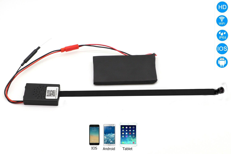 1080 P беспроводная мини IP-камера видеонаблюдения с WiFi спортивный видеорегистратор Espia P2P видео Регистраторы компактная цифровая инфракрасна...
