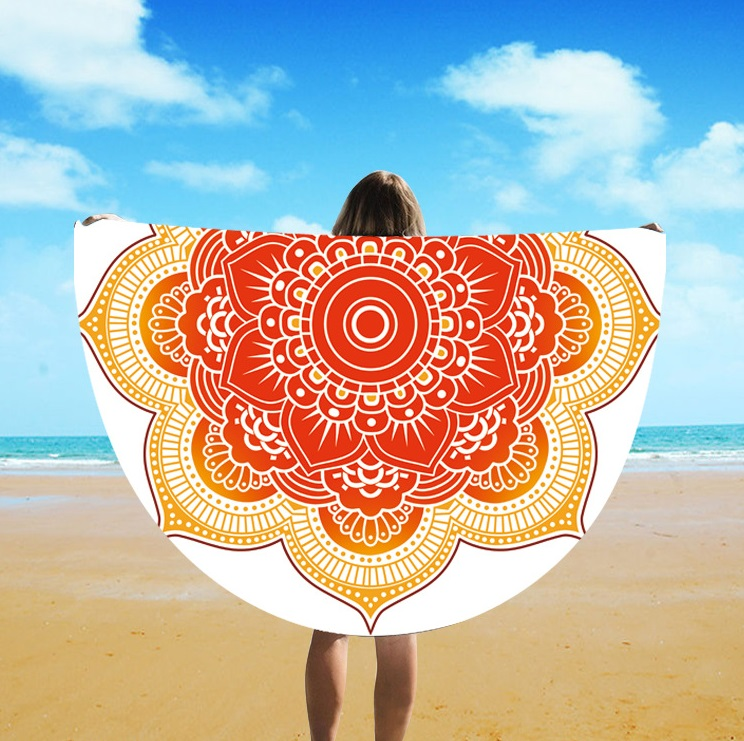 Beach Towel Hot Sale 2019 Aliexpress Foreign Trade New Fashion Beach Blanket St06-109