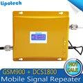 ЖК-Дисплей! 4 Г LTE 1800 МГц + 2 Г GSM 900 МГц Dual Band Мобильный Телефон Усилитель Сигнала GSM 900 DCS 1800 Усилитель Сигнала Повторитель