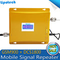Display LCD!! 4G LTE 1800 MHz + 2G GSM 900 Mhz Dual Band Mobile Phone Signal Booster GSM 900 DCS 1800 Repetidor De Sinal Amplificador