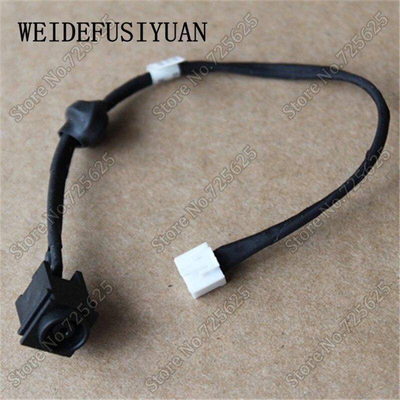 Ordinateur portable prise de charge port dc power jack harness câble pour sony vaio vgn-fw m760 073-0001-4504_b