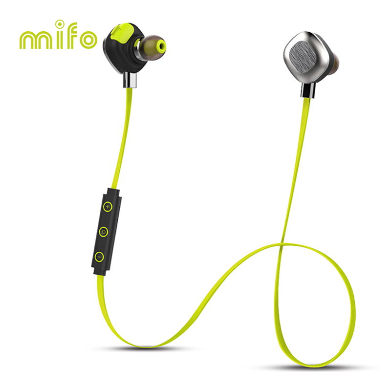 mifo U5 PLUS Waterproof IPX7 Wireless Bluetooth Headset Stereo Bluetooth Earphone with Microphone Magnetic Long Working Time