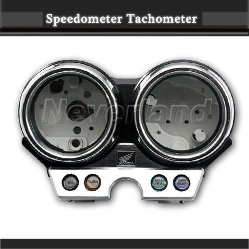 Hot sale Motorcycle Speedometer Tachometer Cover Speedo Gauges Case For Honda CB400 1992-1993 CB 400 92 93 Free shipping C20