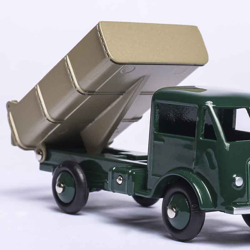 Купить с кэшбэком MINIATURES DINKY TOYS 25M EDITIONS ATLAS FORD BENNE BASCULANTE 1/43 CAR MODEL DIE-CAST