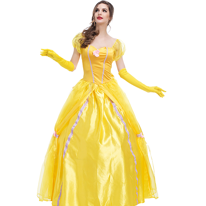 Compare Prices on Belle Yellow Dress Costume Plus Size- Online ...