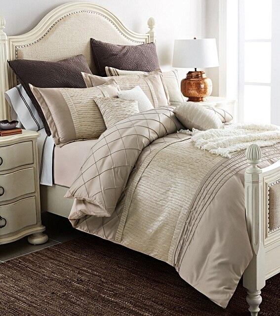 Luxury Bedding Set Quilt Duvet Cover Bedspreads Silk