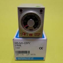 H3-M1-220V H3-M1-110V H3-M1-24V на задержке таймер FOTEK и H3-M1