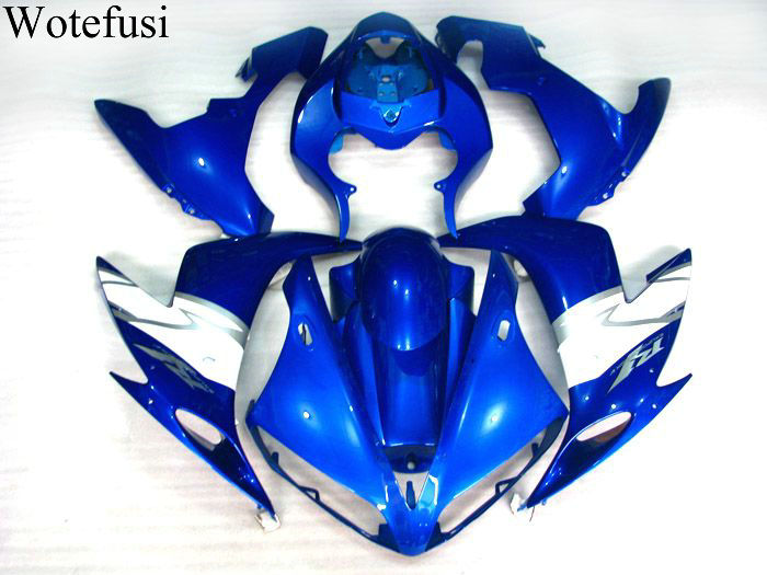 Fashion Hot White Blue Bodywork Motorcycle Fairing Injection Mold For 2004 2005 2006 YAMAHA YZF1000 R1 04-06 05 (7) [CK817] high tech and fashion electric product shell plastic mold