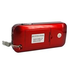 Image 2 - Kebidu 2019 taşınabilir L 088 mikro SD TF kart FM radyo HIFI şarj edilebilir müzik çalar çift hoparlör Mini hoparlör MP3