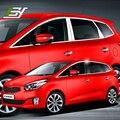 Envío libre 304 de acero inoxidable de coches ventana recorta para kia carens rondo $ number ª generación (RP 2013 2014 2015 2016 2017
