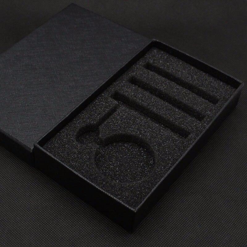 Fashion Hollow Flower Silver Hand Winding Mechanical Pocket Watch Mens Womens Box Bag 11