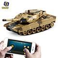 Bluetooth 2.0 RC Tanque de Brinquedo de Controle remoto Sensor de Gravidade de 360 Graus Eversão Bom Na Habilidade de Escalada Tiro Simulado Panzer