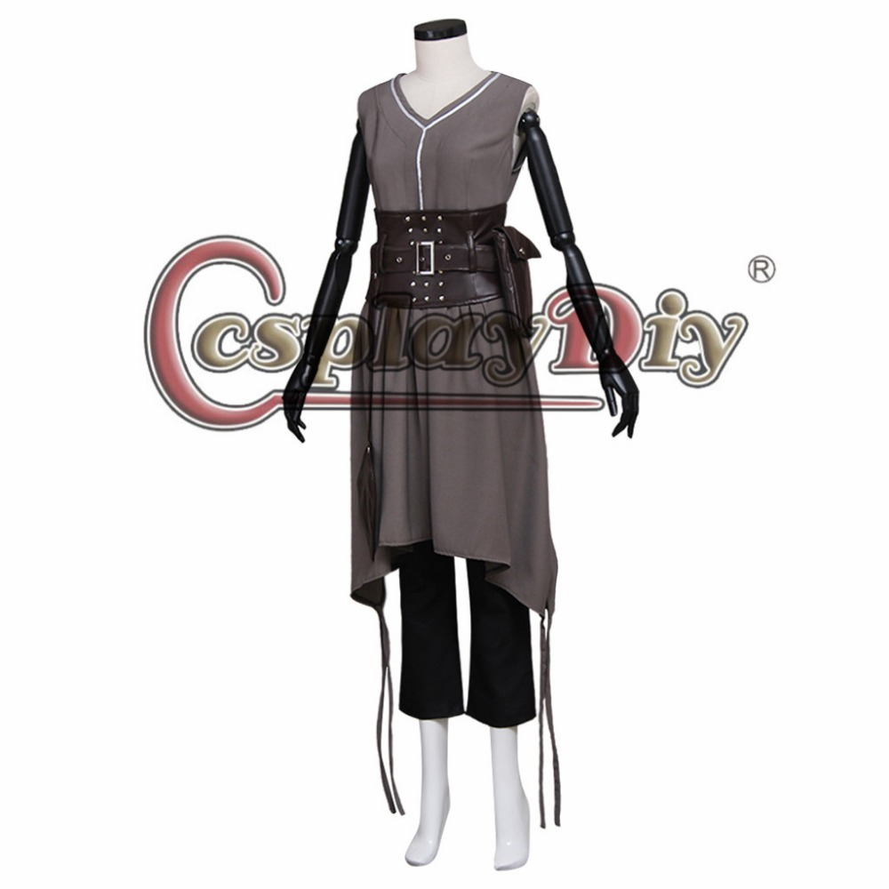 Cosplaydiy Doctor Who River Song (Alex Kingston) Women Cosplay Costume For Halloween Carnival Party Custom Made J5 image