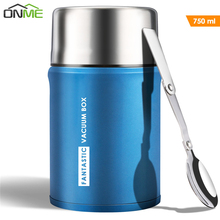 Onme 750ml Thermos for Food Large Vacuum Flasks lunch box Insulated Soup Porridge Box Outdoor Coffee Mugs Thermoses