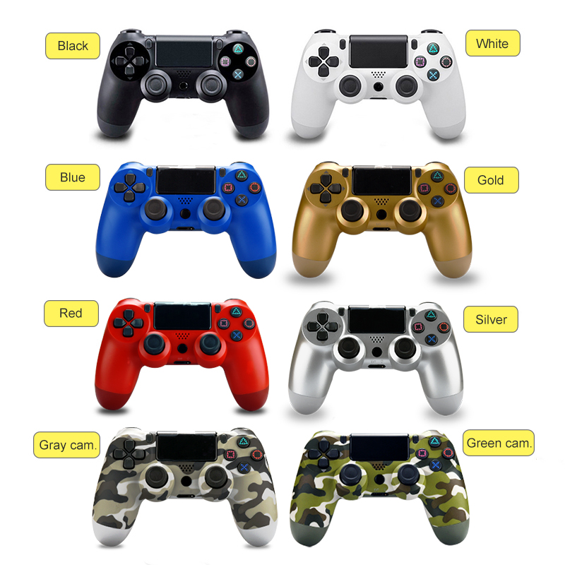 2019 New Upgrade Version 5.56 PC Bluetooth Wireless Gamepad Joysticks For PlayStation4 Dual Shock 4 Controller PS4 Controllers
