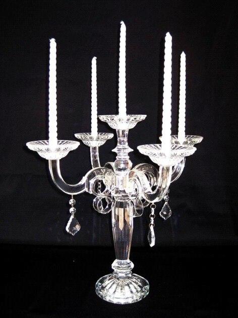 Candélabres de 47 cm à vendre faveur de décoration de mariage pas cher