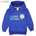 Jiuhehall Spring Boys Girls Hoodies Cartoon Sugar Print Kids Sweatshirts Polyester Long Sleeve Toddlers Clothing FCM079