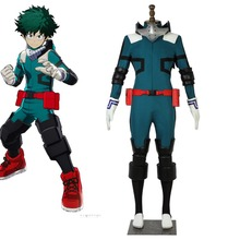 Cosplaydiy My Hero Accademia Boku no Hero Akademia Izuku Midoriya Cosplay Costume Adulto Midoriya Izuku Version 2 Suit L320