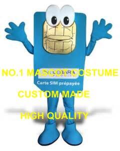 Hot Sale Anime Cosply Costumes lebara Mobile Mascot Costume Adult Cartoon Fancy Dress AD Advertising Mascotte Fancy Dress 1764