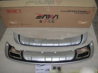 2011 2012 KIA Sportager High Quality Plastic ABS Chrome Front Rear Bumper Cover Trim