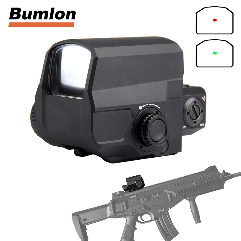LCO Tactical Red Dot Sight Rifle Scope Hunting Scopes Reflex Sight With 20mm Rail Mount Holographic Sight HT5-0038 2016 hot sale auto mechanical self winding leather strap automatic silver mens watch black page 4
