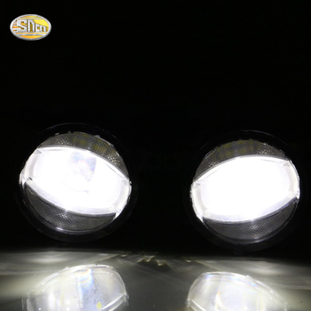 SNCN 24W+14W LED Multifunctional LED Fog Lamp for Mitsubishi Pajero Sport 2010~2016 with DRL daytime running lights
