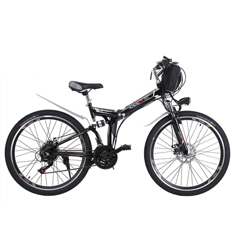 21 speed 24 26 48v 350w full suspension folding bike. Black Bedroom Furniture Sets. Home Design Ideas
