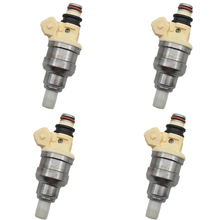 4pcs/lot Fuel Injectors inejctor nozzle MD111421 MD141263 INP 051 INP051 B210H for MITSUBISHI Montero Eclipse Galant