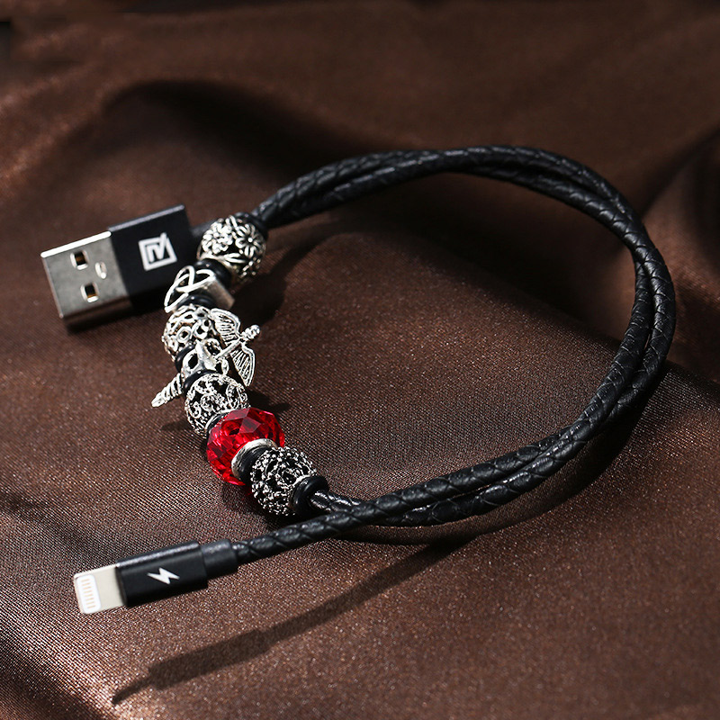 Fashion Art <font><b>charger</b></font> usb cable phone data line adapter charging 3.0 for ipod apple <font><b>iphone</b></font> X <font><b>6S</b></font> 7 8 plus fast light quick wire