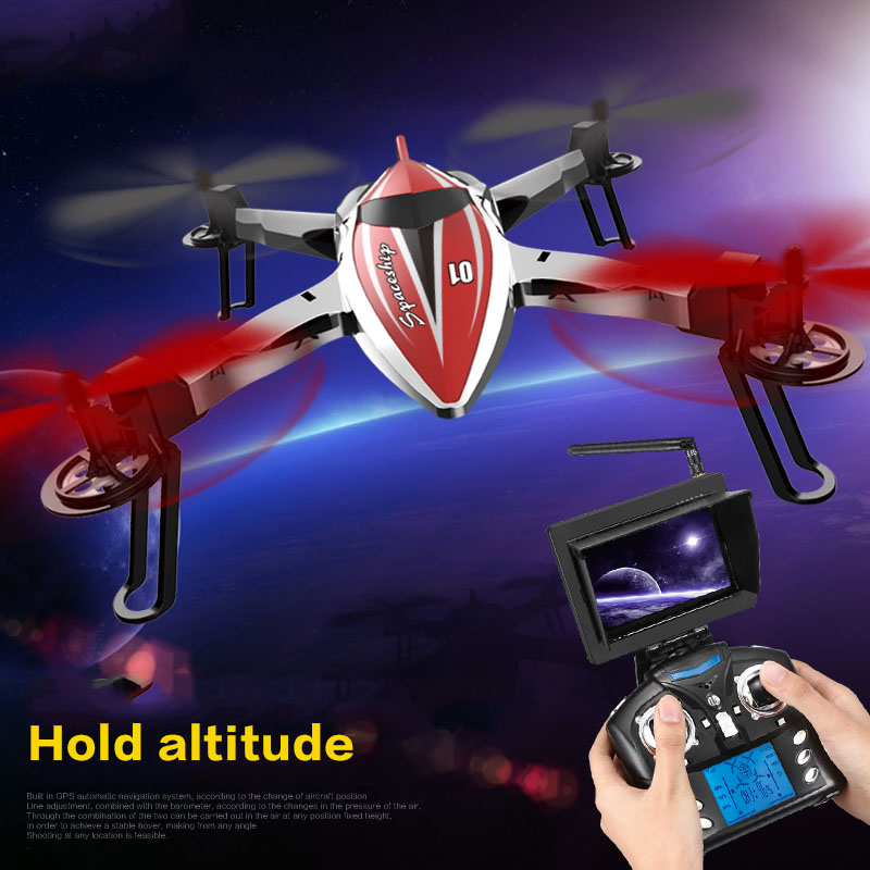 RC Drone with Hold Altitude Waterproof Resistance To Fall Quadrocopter One Key Return 2.4G 6Axis RC Quadcopter Camera Helicopter велосипед electra cruiser lux 3i ladies 2015
