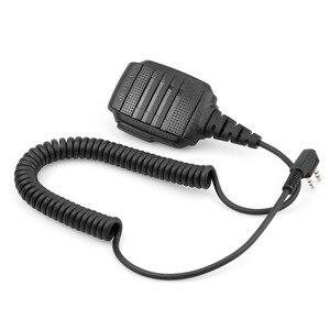 Image 3 - 10 шт., оптовая продажа, водонепроницаемый микрофон IP54 для Kenwood RETEVIS H777 RT3 RT3S RT22 Baofeng, рация с функцией «раций» и «уоки токи», для моделей Kenwood RETEVIS H777, RT3, RT3S, RT22, Baofeng