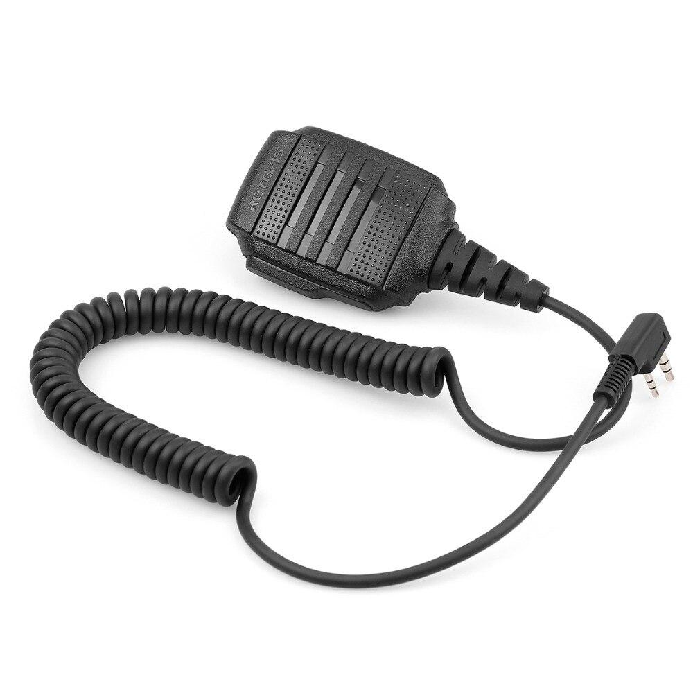 Image 3 - 10 pcs Wholesale RS 114 IP54 Waterproof Speaker Microphone For Kenwood RETEVIS H777 RT3 RT22 RT81 Baofeng UV 5R Walkie Talkie-in Walkie Talkie from Cellphones & Telecommunications