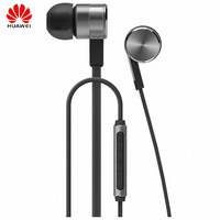 Original Huawei Honor AM13 Engine 2 Earphone Stereo Piston In Ear Earbud MIC Volum Control For